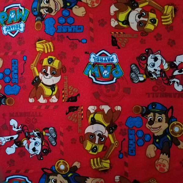 Welding Cap Red Paw Patrol With Names Welder S Wench
