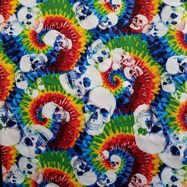 Welding Cap Rainbow Tie Dye Skulls Welder S Wench